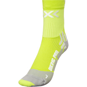 X-Socks Biking Pro Fietssokken Heren, green lime/pearl grey